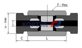 Фото Union Couplings (Slip Type)_1